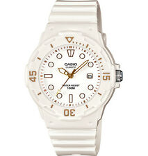 Casio LRW200H-7E2V, Women's Analog White Resin Band, White Face, Date, 100 Meter