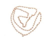 Mala Rosary Necklace Hindu Beads Wood Tulsi Basil Sacred 0 5/32in Me 8452