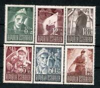 AUSTRIA  1947 Prisoners of War  - Superb Set MNH!