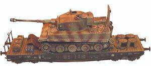 Artmaster 80.128 Tiger I. Bahnverladen H0 1:87 Bausatz Panzer