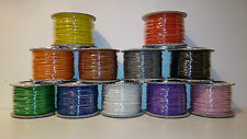 Wire 100 Metres of Layout Wire on Reel 7 Strand 0.2mm various colours available