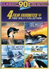 4 Film Favorites: Free Willy 1-4 [New DVD] Boxed Set