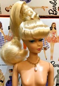 VINTAGE Sculpt Barbie DOLL I Dream Of Jeanie For OOAK Or Display L@@K Repro RFB
