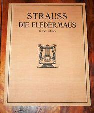 PARTITION Die Fledermaus (La Chauve-souris) STRAUSS 2 Händen