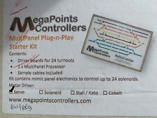 More details for megapoints controllers - mini panel plug-n-play starter kit for servos