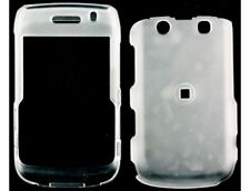 Rubberized Hard Case Clear For BlackBerry Bold 9700