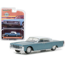 Greenlight 1965 Lincoln Continental Hobby Exclusive Huron Blue 1:64 29932
