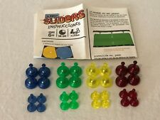 Sorry Sliders Board Game Replacement Parts Pieces Choice Movers Tokens Pawns