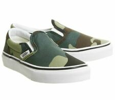 Vans Classic Slip On Woodland Camo Kids Youth Shoes
