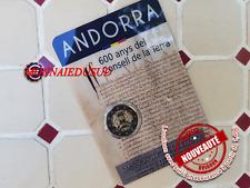2 Euro CC Coincard BU Andorre 2019 - Conseil de la Terre