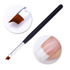 French UV Gel Nail Brush Drawing Painting Pen Black Matte Handle Nail Art Tools