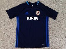 JFA JAPAN NATIONAL KIRIN FUTBOL SOCCER JERSEY YOUTH SIZE