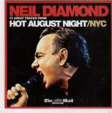 (FI584) Neil Diamond, Hot August Night/NYC - 2008 The Mail CD