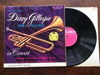 Dizzy Gillespie vinyl LP album record In Concert UK LAE540 VOCALION 1963