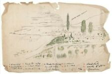 More details for high quality digital print of sketch made by lt john chard vc rorkes drift 1879