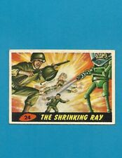 1962 MARS ATTACKS Nice Condition Alien Space War Card #24 The Shrinking Ray