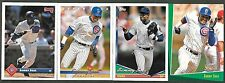 Mike Morgan - Chicago Cubs - 3 Card Lot - See Description - Free Shipping