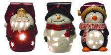 Aromatize 18cm Christmas Electric Wax Melt/Oil Burner - Santa/Snowman/Penguin