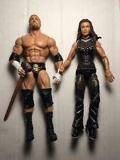 Triple H & Stephanie McMahon con Mazo-Wwe Mattel Elite WWF Hhh Dx