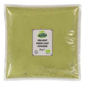 Organic Neem Leaf Powder 2kg Certified Organic