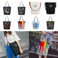 Women Handbags Canvas Shoulder Bags Totes Purse Messenger Floral Satchel Vintage