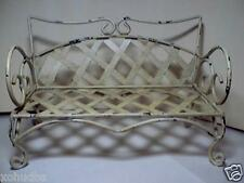 Miniature Doll Bench Bear Daybed made of Wrought Iron Metal