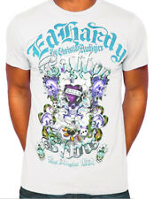 Ed Hardy Men's Love Kills Slowly Gamble T shirt White