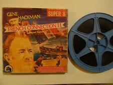"Super 8mm color sound 1x400'' ""FRENCH CONNECTION II"" Gene Hackman Original Box"