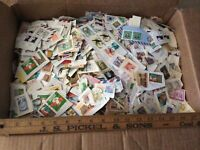 Lot of US & Worldwide Stamps, On & Off Paper
