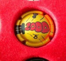 capsule de champagne peinte a la main jean pernet an 2000