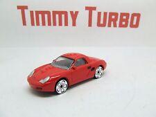 PORSCHE Boxster S in rosso grande dettaglio Nuovo di zecca 1/58 Nuovo di zecca REALTOY