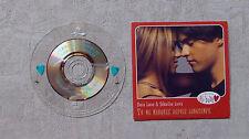 """CD AUDIO/ SONIA LACEN, SEBASTIEN LORCA """"TU ME MANQUES DEPUIS LONGTEMPS"""" CDS 1999"""