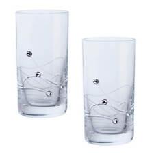 Dartington Glitz Swarovski Elements Set Of 2 Shot Glasses