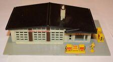Bachmann N scale / gauge Shell garage Plasticville -unboxed - playworn