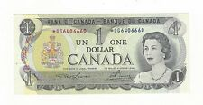 **1973**Canada $1 Note Lawson/Bouey SN# *OG 6406660 BC-46aA Replacement