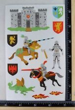 Mrs Grossman KNIGHTS Giant Stickers Medieval Times