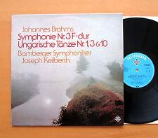 Brahms Symphony no. 3 Joseph Keilberth 1964 Telefunken NT 846 Stereo NEAR MINT
