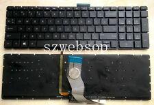 New HP pavillion 15-ab223cl 15-ab112na 15-ab111na 15-ab110na US keyboard backlit