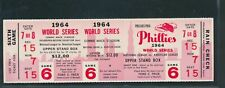 1964 World Series Phillies Phantom Full Ticket *1934