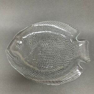 """Arcoroc France Clear Textured Glass Plate 10 3/4"""""""