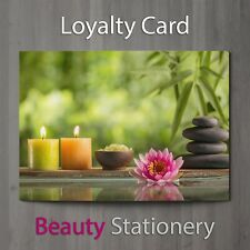 Loyalty Card Spa Beauty Salon Hairdressing Make Up Therapist Wellness A8 Mini