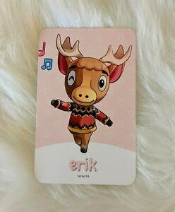 Amiibo NFC Karte Animal Crossing Erik 334