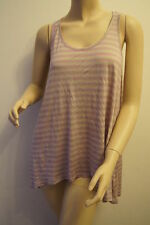 Women's Semi Fitted Striped Scoop Neck Vest Top, Strappy, Cami Tops & Shirts