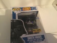 Funko Pop Star Wars Darth Vader Hot Topic Exc. Signed by Daniel Naprous w/COA