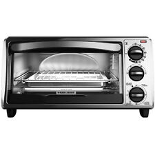 Black & Decker Black and Decker 4-Slice Bezel Toaster Oven - Black - TO1313SBD