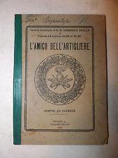 Guerra, Odello / di Blasi: L'amico dell'artigliere 1925 Esercito illustrato foto