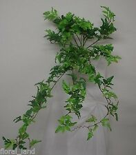 10 x ARTIFICIAL PLANT FAKE FERN HANGING BUSH GREEN PLANTS FERNS BULK BOSTON
