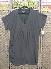 INC INTERNATIONAL CONCEPTS Black Tunic Top 2X XXL 18 20 BNWT