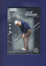 Arnold Palmer HOF 2001 Upper Deck UD Golf SP Authentic Honor Roll  #HR15