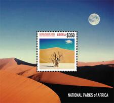 Liberia - 2014 - NATIONAL PARKS OF AFRICA - Souvenir Sheet - Stamps - MNH